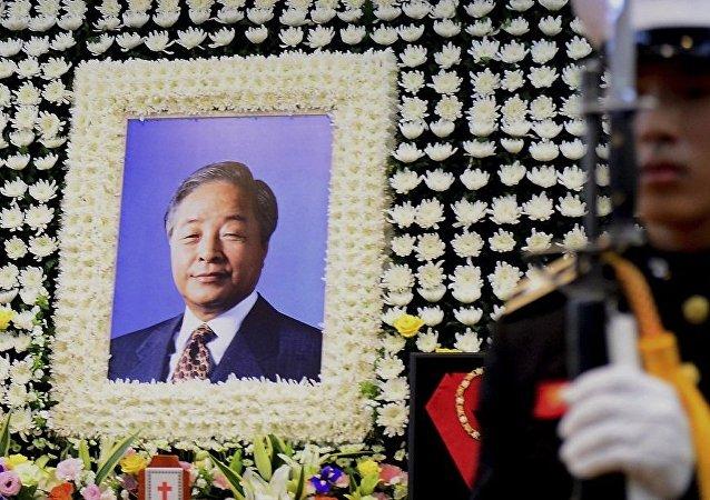 韓國告別前總統金泳三