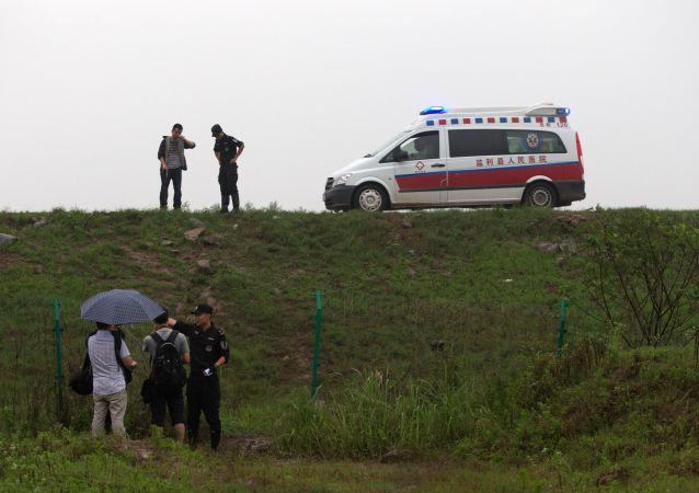 雲南省一輛卡車撞上小巴:四人死亡