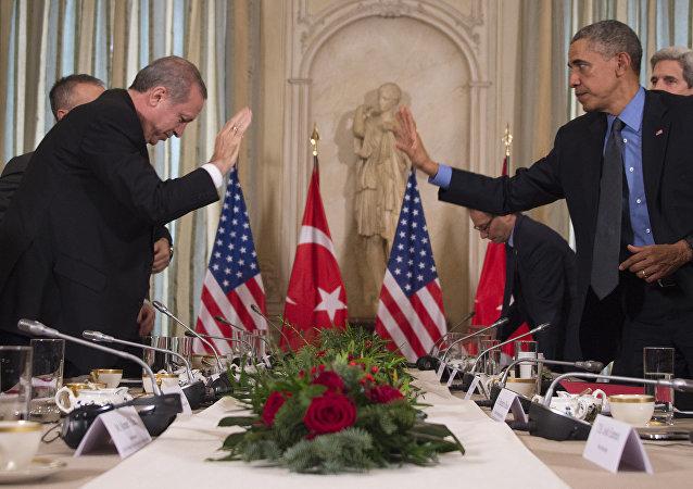 敘利亞庫爾德人得到美國支持 土耳其總統予以譴責