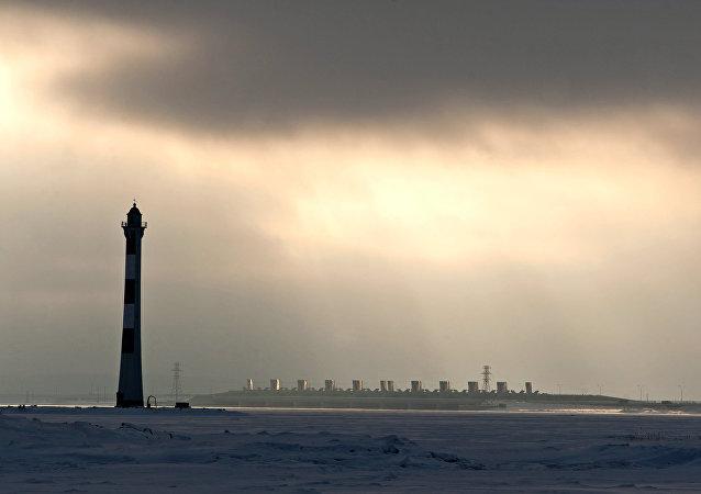 聖彼得堡大壩閘門因水災威脅關閉