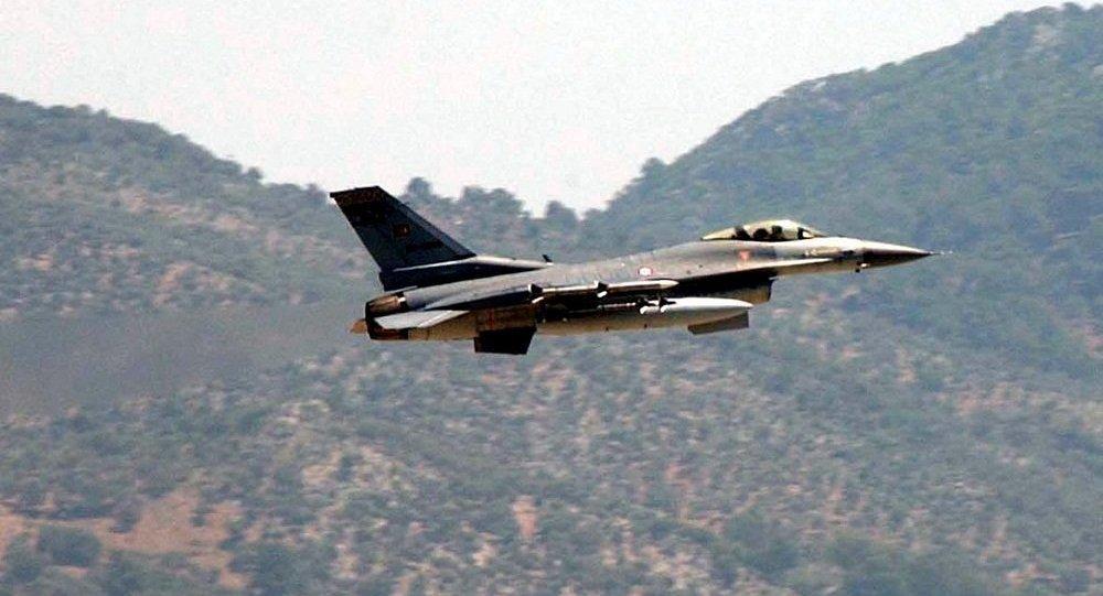 土耳其一架軍機墜毀