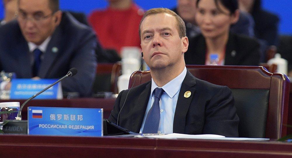 俄總理:下次俄中政府首腦會晤將在俄舉行