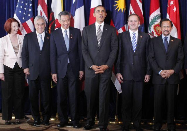 美國決定從《跨太平洋夥伴關係協定》中最終退出