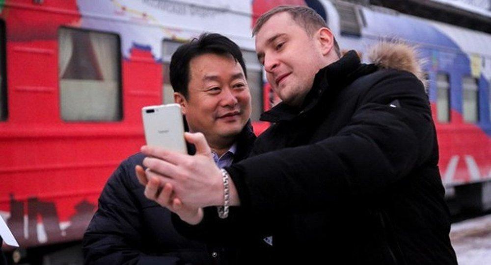 中俄青年交流