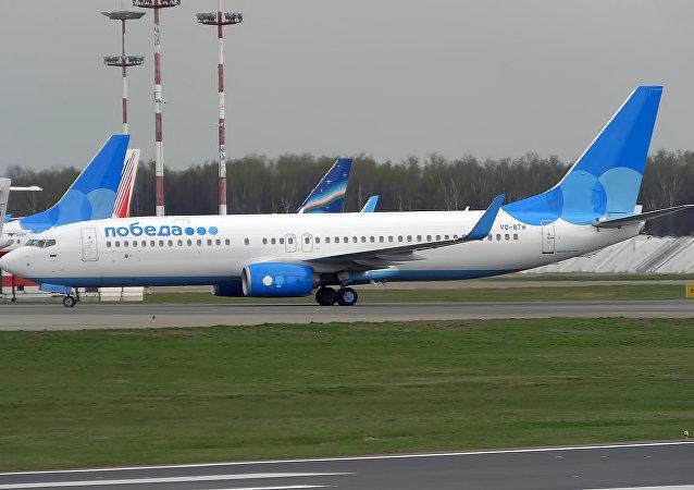 Boeing 737-800 (「勝利」 低成本航公司)