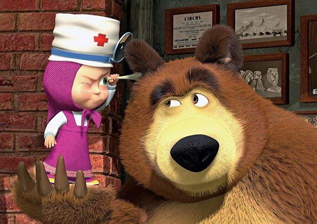 《瑪莎與熊》品牌俄羅斯商品將進入中國市場