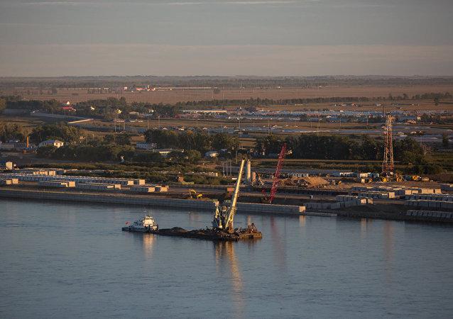 布拉戈維申斯克港口