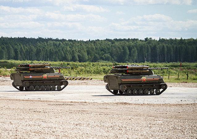 消息人士:俄將於2020年制定城市戰鬥中機器人使用戰術