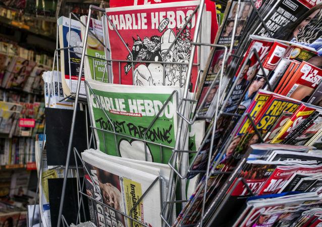 普京與特朗普成為最新一期《查理週刊》的主角