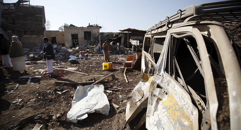 也門一場葬禮遭阿拉伯聯盟空襲,造成至少45人死亡