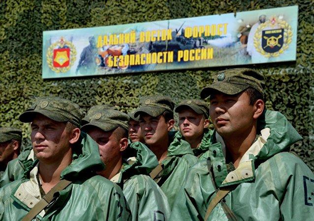 俄東部軍區生化部隊2016年將參加兩場國際軍演