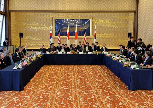 日本韓副外長正討論制裁朝鮮的可能性