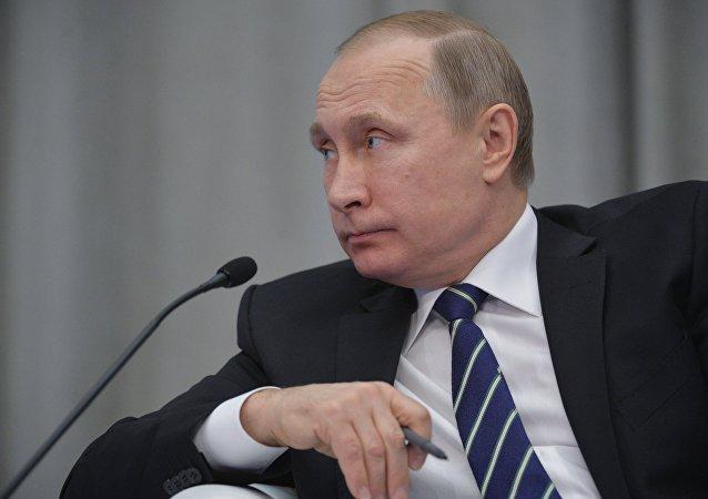 普京承諾協助企業家實施業務發展方案