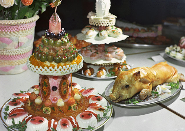 俄羅斯食物