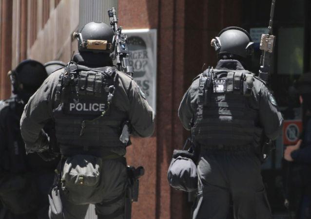 澳大利亞悉尼的武裝警察