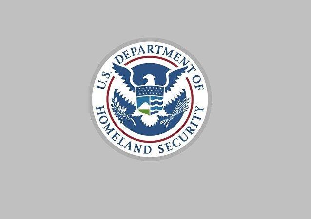 美國國土安全部徽章