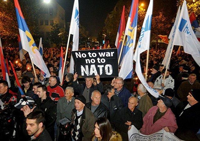 黑山人反對北約/資料圖片/