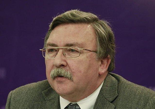 俄外交部武器不擴散和監督司司長米哈伊爾•烏里揚諾夫