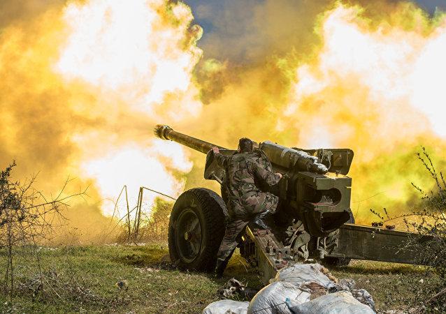 庫爾德人開始突擊敘阿勒頗省北部城市泰勒里法特