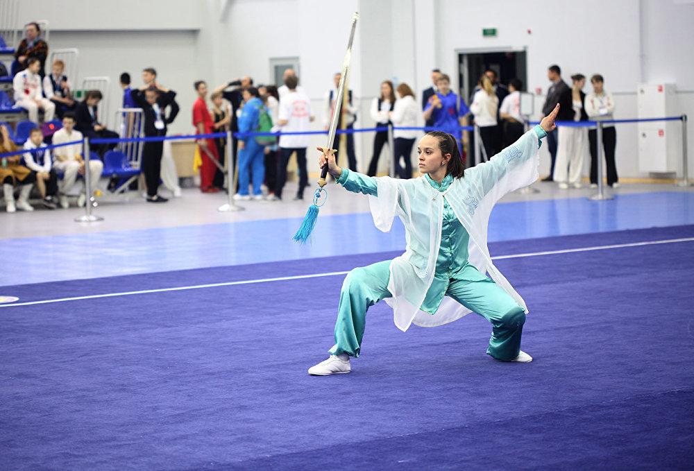 在莫斯科正在舉行「莫斯科武術之星」國際比賽。
