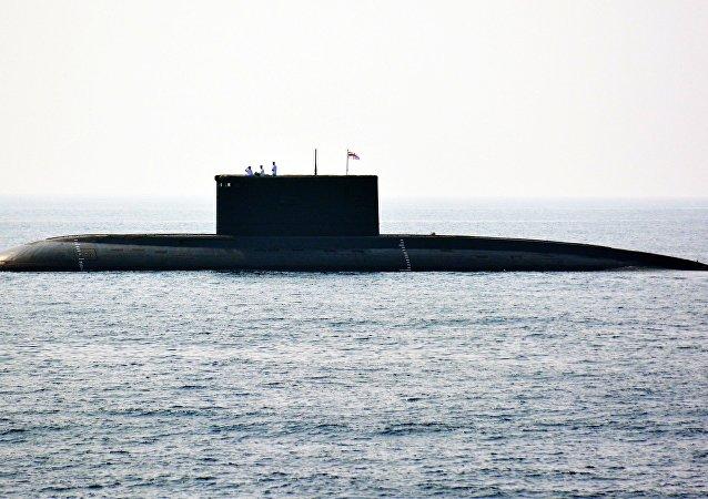報紙:印度「殲敵者」號核潛艇