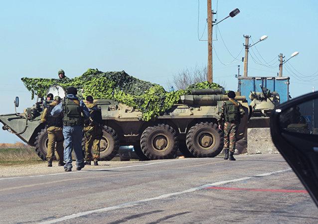 俄安全局:克里米亞侵犯邊界行為越來越頻繁