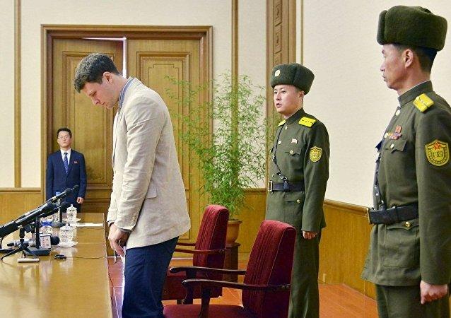 華媒:大學生死亡,美對朝政策面臨考驗