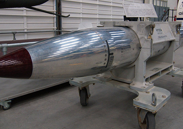 美國空軍證實已試驗B61-12核彈