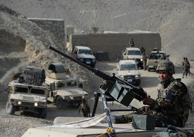 20余名「伊斯蘭國」組織恐怖分子在阿富汗東部被消滅