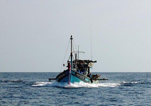 通訊社:載有11人的漁船在中國東部沈沒/資料圖片/