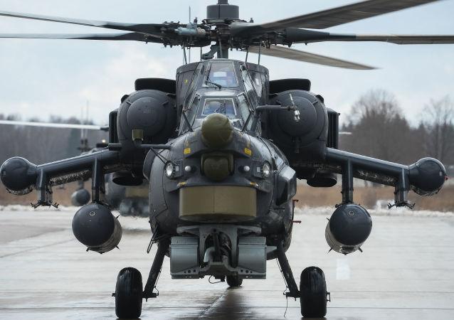 米-28N直升機