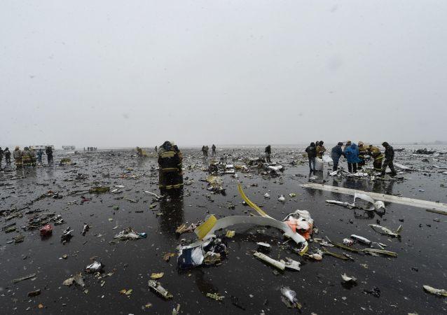 俄緊急情況部:頓河畔羅斯托夫空難現場搜救工作結束