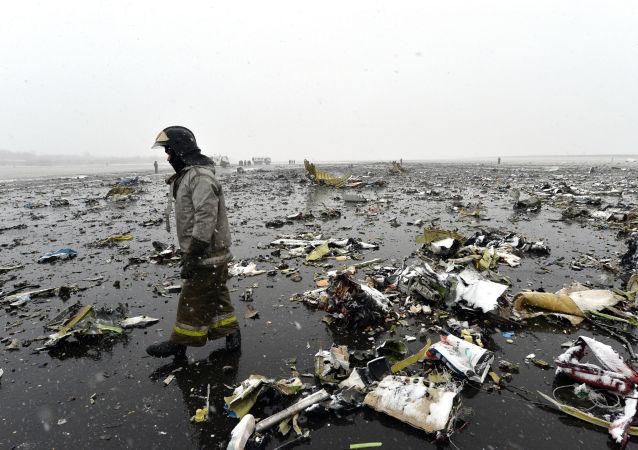 俄緊急狀況部:迪拜航空客機出事地點的搜救工作幾乎接近尾聲
