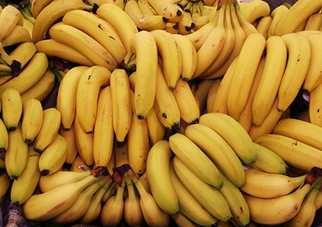 哥倫比亞一男子手持香蕉當武器企圖搶劫殯儀館