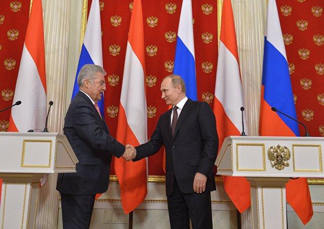 普京:俄羅斯期望在奧地利擔任歐安組織輪值主席國期間能夠與該國緊密合作