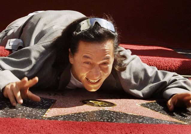 成龍在好萊塢的星光大道上,2002年