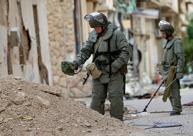 敘利亞工兵在霍姆斯省又排雷2公頃