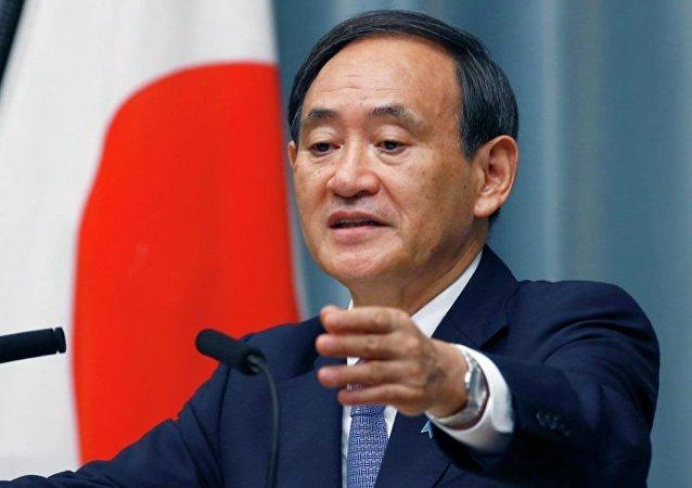 日本內閣官房長官:美日政府間未討論過修改安保條約