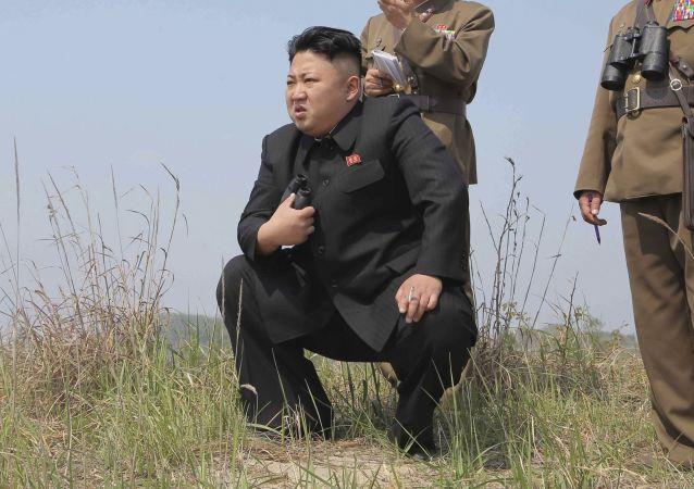 金正恩親自指揮了「新型」導彈的發射