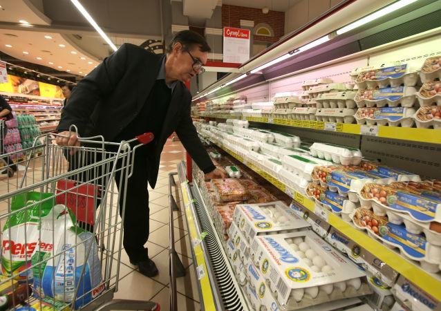 俄農業部指出連鎖店個別食品價格有所上漲