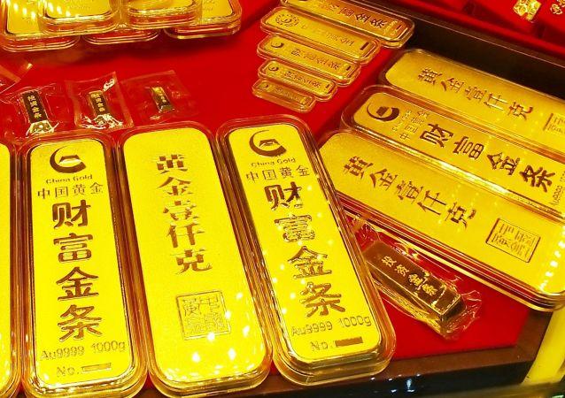 中國黃金生產消費量持續全球第一