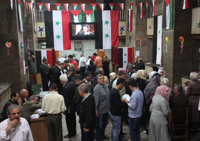 敘利亞人民議會選舉