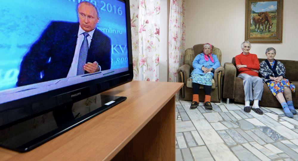 普京直播連線節目已接到超過130萬問題