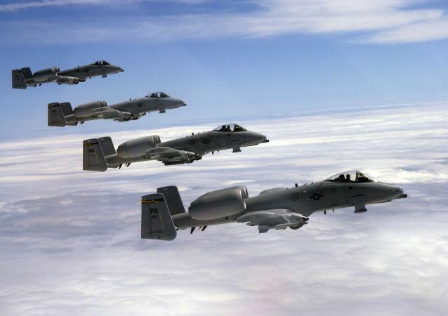 美國空軍A-10C雷電(A-10C Thunderbolt)攻擊機