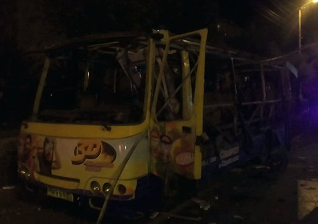 埃里溫一輛公共汽車發生爆炸