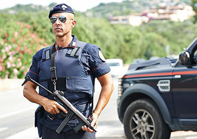 意大利警察 (資料圖片 )