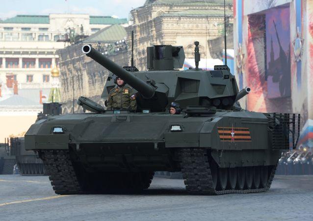 美《國家利益》雜誌解密俄阿瑪塔坦克「秘密武器」