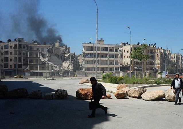 1000多人組成的武裝團伙進攻敘武裝軍隊在阿勒頗附近的陣地