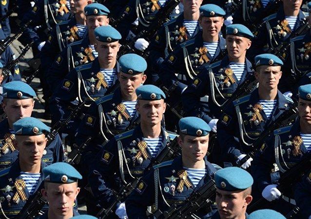 俄空降部隊