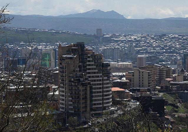 亞美尼亞首都埃里溫